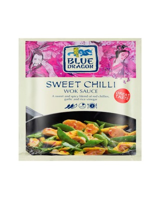 Blue Dragon Sweet chilli wok-kastike 120g