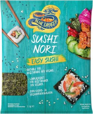 Blue Dragon Sushi Nori Paahdettu Merilev 5Kpl/11G