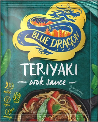 Blue Dragon Teriyaki Wok-Kastike 120G