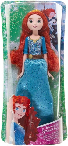 Disney Princess Royal Shimmer nukke, lajitelma