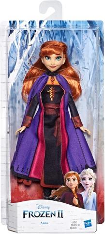 Disney Frozen Anna -Muotinukke, Jolla On Pitkät Punaiset Hiukset Ja Frozen 2 -Elokuvan Innoittama Asu – Lelu Yli 3-Vuotiaille Lapsille