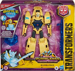 Transformers + Cyberverse Battlecall Trooper Class + Interaktiivinen Hahmo