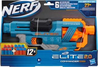 Nerf Elite 2.0 Commander Rc-6 Blasteri
