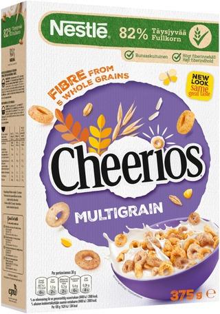 Nestlé Cheerios 375G Monivilja Rapeita Monivilja-Täysjyvämuroja