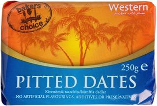 Western 250G Kivettömiä Taateleita