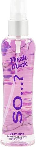 So...? 100 ml Fresh Musk Body Mist vartalosuihke