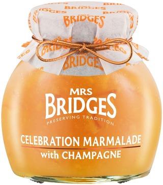 Mrs Bridges 340g Samppanja-Appelsiini Marmeladi