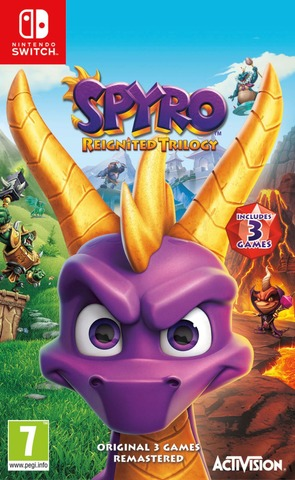 Nintendo Switch Spyro - Reignited Trilogy