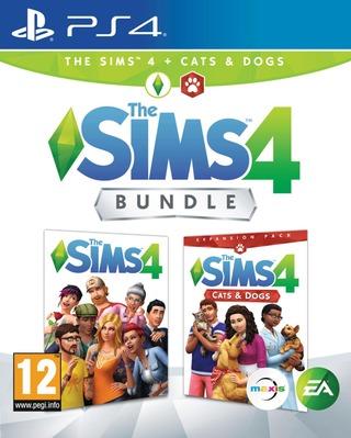 Playstation 4 Peli The Sims 4 + Kissat Ja Koirat