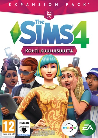 Pc/Mac Peli The Sims 4 Kohti Kuuluisuutta (Lisäosa)