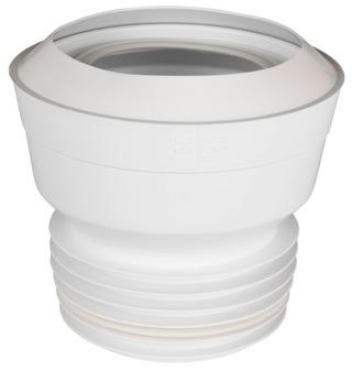 Gelia wc-mansetti 110mm suora