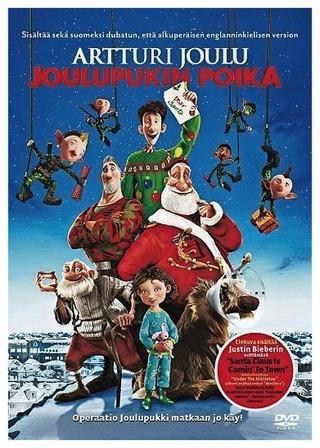 Dvd Artturi Joulu - Joulupukin Poika
