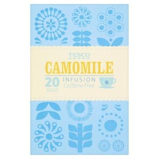 Tesco 30G Camomile Infusion Caffeine Free Tee 20Ps