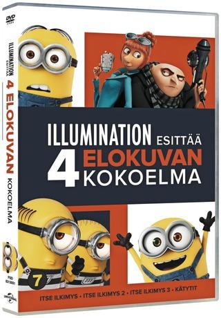 Dvd Itse Ilkimys Box - 4 Elokuvaa