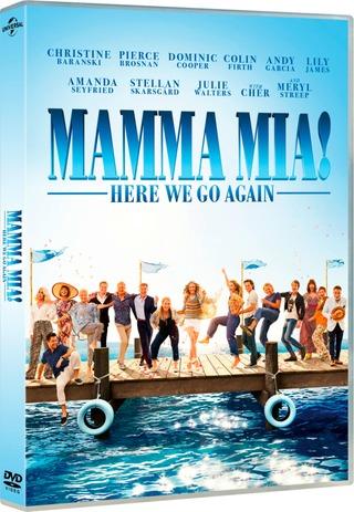 Mamma Mia! - Here We Go Again Dvd
