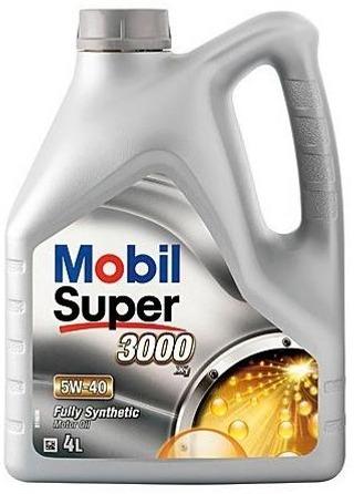Mobil Super 3000 X1 4L Moottoriöljy 5W-40