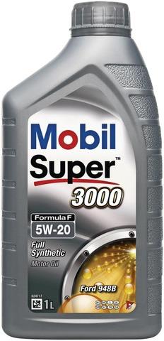 Mobil Super 3000 1L Moottoriöljy Formula F 5W-20