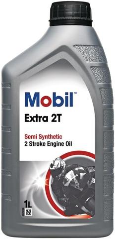 Mobil Extra 2T 1L 2-Tahtimoottoriöljy