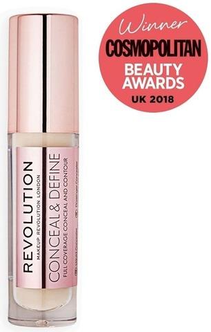 Makeup Revolution Conceal & Define Concealer C2 Peite- Ja Korostusväri