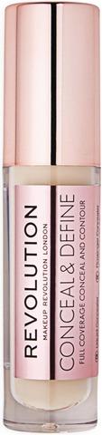 Makeup Revolution Conceal And Define Concealer - C3 Peite- Ja Korostussävy