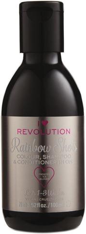 I Heart Revolution Rainbow Shots Frosted Ice Blonde Hoitava Shampoohiusväri