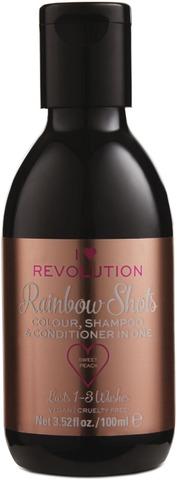 I Heart Revolution Rainbow Shots Sweet Peach Hoitava Shampoohiusväri