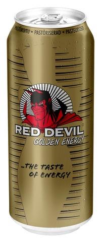 Red Devil Kultainen Energiajuoma 0,500L Tlk