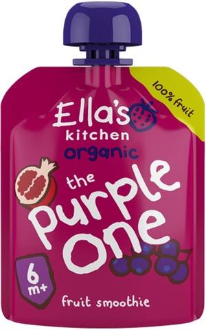 90G Ella's Kitchen The Purple One, Violetti Hedelmäsmoothie Alkaen 6Kk Luomu