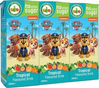 Appy Kids Paw Patrol Tropical Fruit Pillimehu 3X200 Ml