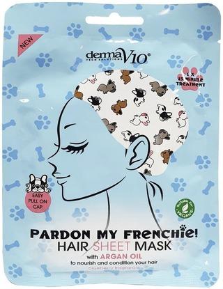 Derma V10 Pardon My Frenchie Hiusnaamio