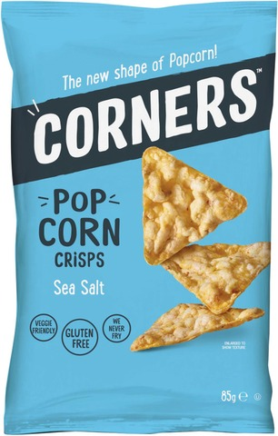 Corners Pop Corn Crisps maissilastut sea salt 85g