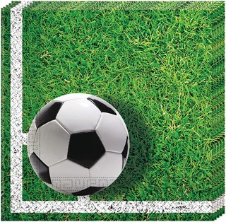 Football Party Lautasliina 33X33cm 20Kpl