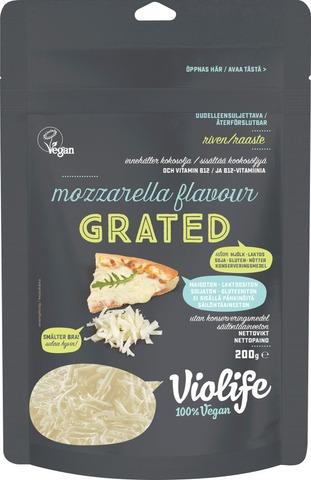 Violife 100% Vegan Grated Mozzarella Flavour 200G