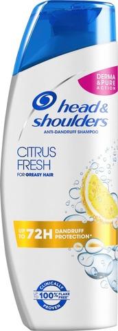 Head&Shoulders 250Ml Citrus Fresh Shampoo