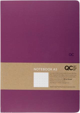 Muistivihko Qc A5 Violetti