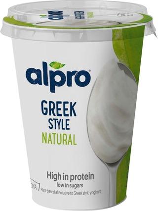 Alpro Greek Style Hapatettu Soijavalmiste, Maustamaton 400G