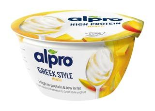 Alpro Greek Style Hapatettu Soijavalmiste, Mango 150G