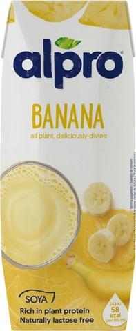 Alpro Soijajuoma, Banaani 250Ml