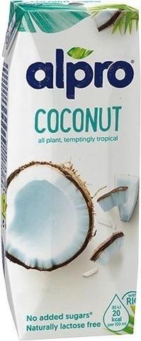 Alpro kookospähkinä-riisijuoma 250ml