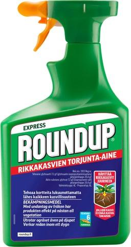 Roundup Express 1L Rikkakasvien torjunta-aine spray