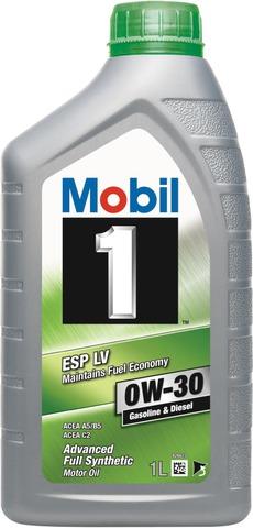 Mobil 1 1L Täyssynteettinen Moottoriöljy Esp Lv 0W-30