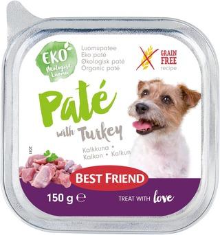 Best Friend Luomu Kalkkunapatee 150G