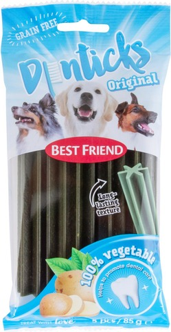 Best Friend Denticks Viljaton Purutikku 5Kpl 85G