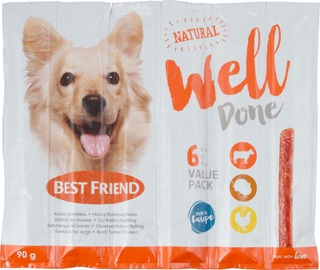 Best Friend Welldone Härkä-Kalkkuna-Kana 6-Pack 90G
