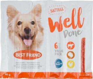 Best Friend WellDone härkä-kalkkuna-kana 6-pack 90g