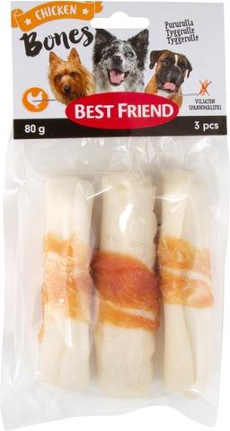 Best Friend Bones Pururulla kanalla 10cm 3kpl 80g
