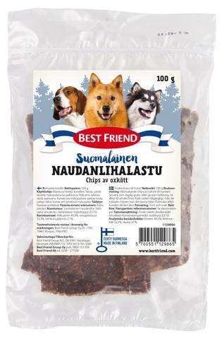 Best Friend Suomalainen Naudanlihalastu 100G