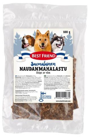Best Friend Suomalainen Naudanmahalastu 100G