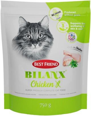 Best Friend Bilanx viljaton kana kissanruoka 750g