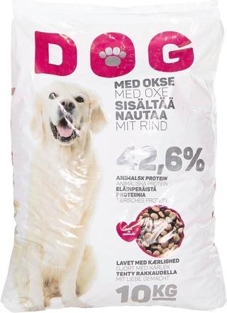 Dog 10Kg Koiran Kuivaruoka Liha